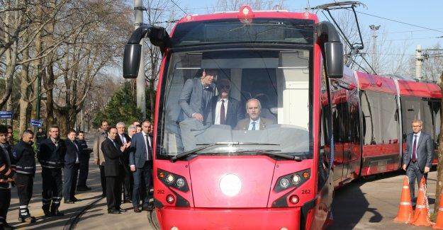 Bursa'da raylı sistem güçleniyor!