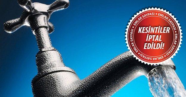 Bursa'da su kesintileri iptal edildi! 10 Kasım 2015 11 Kasım 2015 12 Kasım 2015