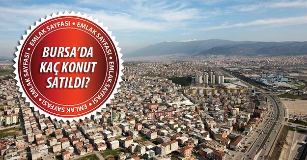 Bursa konut satış istatistikleri Haziran 2015!