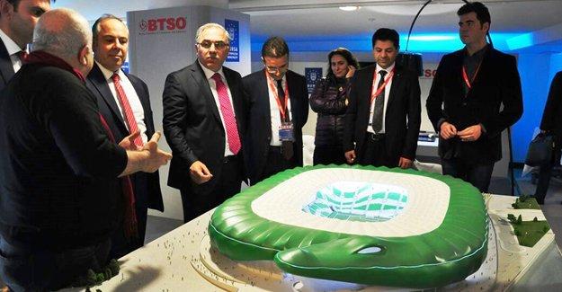 Bursa'nın projeleri dünyaya tanıtıldı!