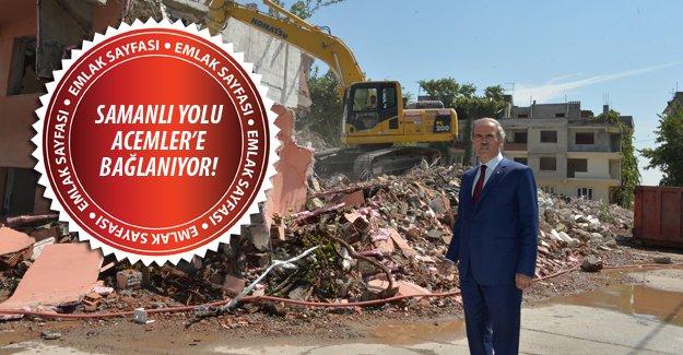 Bursa'nın yeni bulvarında çalışmalar sürüyor
