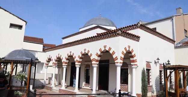 Büyükşehir Belediyesi Üsküp'te restorasyon yaptı!
