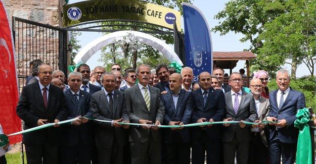 Büyükşehir'den bir sosyal tesis de Tophane'ye!