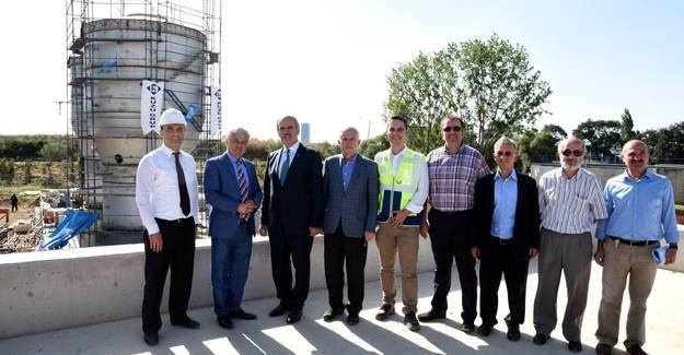 Büyükşehir'den elektrik üreten yerli çamur yakma tesisi!