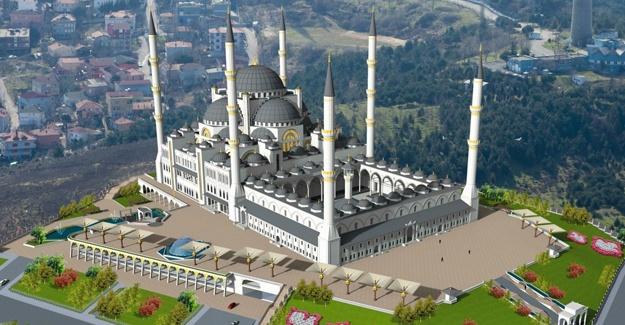 Çamlıca Camii'nin bitmesine ramak kaldı!