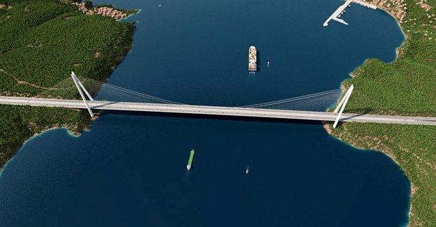 Çanakkale Köprüsü'nün ihalesi bu yıl!