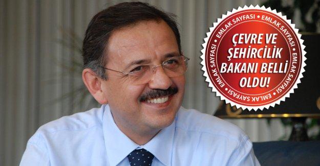 Çevre ve Şehircilik Bakanı Mehmet Özhaseki oldu!