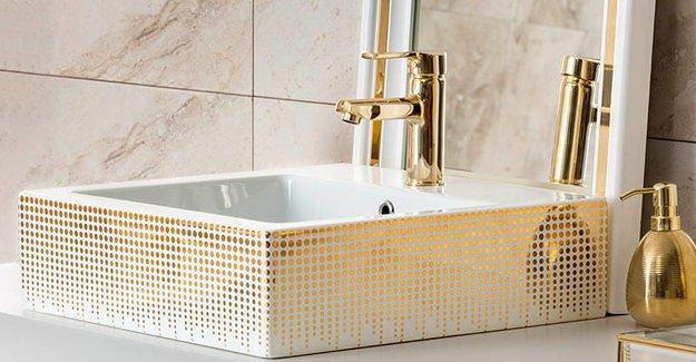 Dekorasyonda son trend, altın dekorlu ürünler!