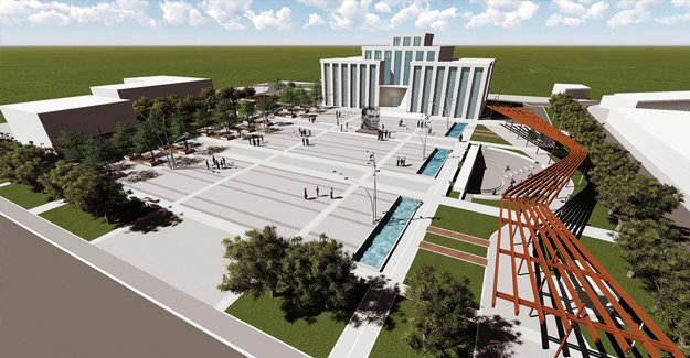 Döşemealtı'nın ilk kent meydanının yapımına başlandı!