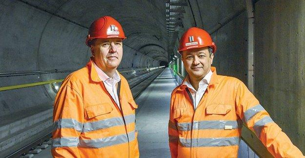 Dünya'nın en uzun tüneline Türk imzası!