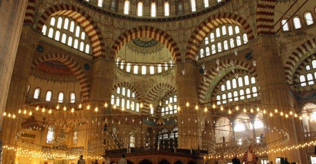 Edirne Selimiye Camisinde rekor ziyaretçi