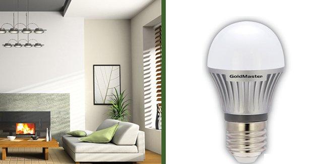 Enerji tasarrufu için LED teknolojisi!