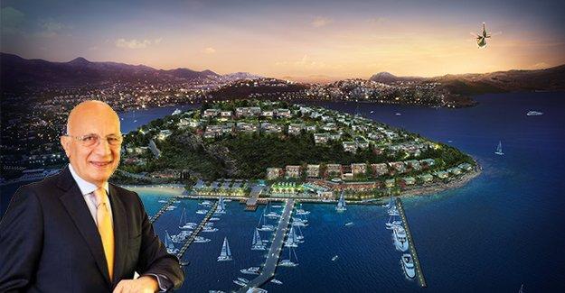 Erdal Aksoy, Bodrum Tilkicik Adası'nı satın aldı,projeye başlıyor!