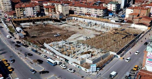 Eski terminal dönüşüm projesinde sona yaklaşıldı!