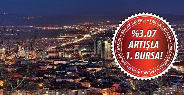 Eylül ayı kira artış rekortmeni Bursa oldu!