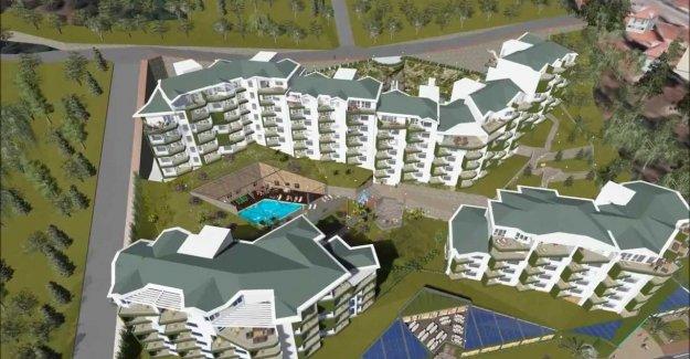 Falez Evleri'nde fiyatlar 100 bin TL'den başlıyor