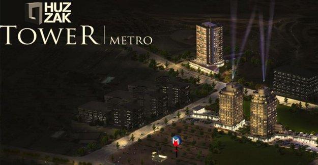 Huzzak Tower Metro'da vade farksız ödeme fırsatı!