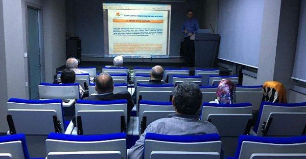 İMO'dan 'Riskli Yapıların Tespit Yönetmeliği' semineri!