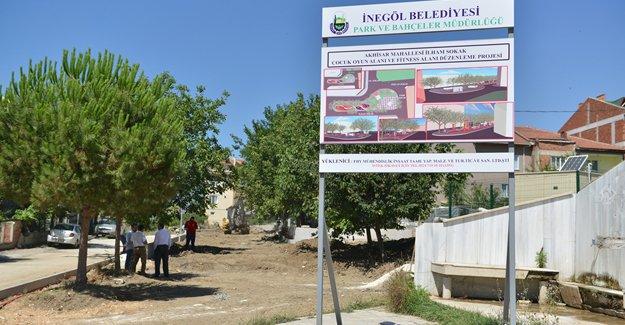İnegöl Akhisar Mahallesi'ni rahatlatacak proje!