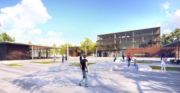 İnegöl Belediye Hizmet Binası Dünya Mimarlık Festivali'nde finale kaldı!