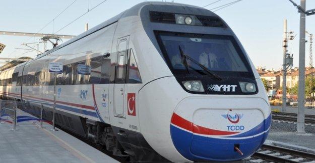 İstanbul Ankara hızlı tren seferleri 12 ekim 2015