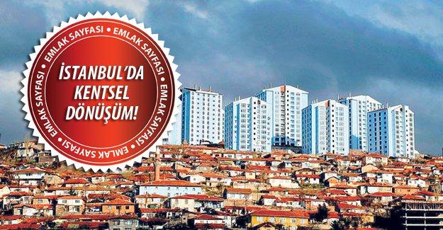İstanbul'da kentsel dönüşüm nerelerde olacak ? İşte açıklanan bölgeler...