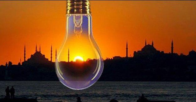 İstanbul elektrik kesintisi! 7 Nisan 2016