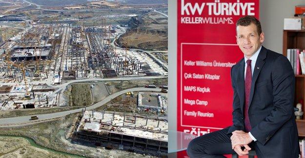 İstanbul'un yeni havalimanı arsa fiyatlarını uçurdu!