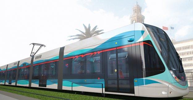 İşte İzmir'in yeni tramvayları !