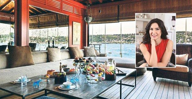 İşte Şirin Yalçın'ın Çengelköy'deki yalısı!