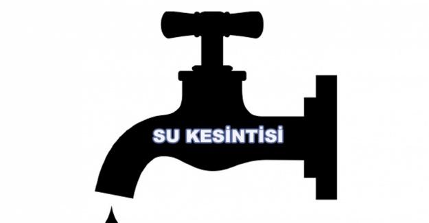 İzmir'in Foça ve Bergama ilçelerinde bugün su kesintisi olacak
