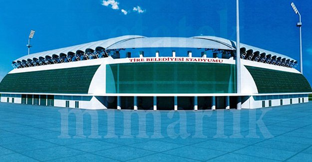 İzmir Tire Stadı'nın yüzde 40'ı tamam!
