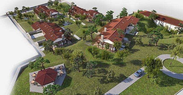 İznik Çiftlik Evleri Candarlı Köyü'nde yükseliyor!