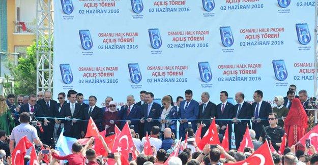 Keçiören Osmanlı Halk Pazarı açıldı!