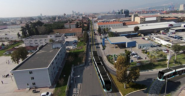 Konak ve Karşıyaka tramvay çalışmaları hız kazandı!