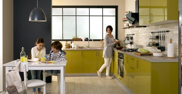 Küçük mutfaklar için pratik dekorasyon çözümleri!