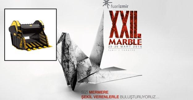 MARBLE 2016'ya MB kovalı kırıcı damga vuracak!
