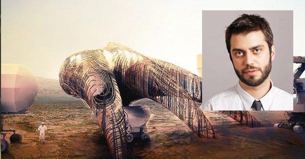 Mars Kolonisi' mimari yarışmasında dördüncü bir Türk!