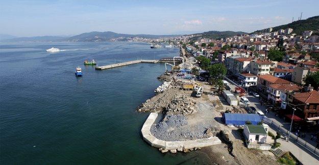 Mudanya sahil projesinde düğüm çözüldü