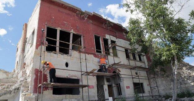 Nevşehir'de Tarihi Beyler Konağı restore ediliyor!