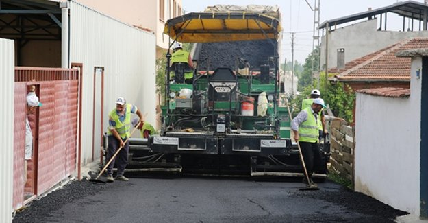 Nilüfer Belediyesi'nden 45 kilometre asfalt hedefi!