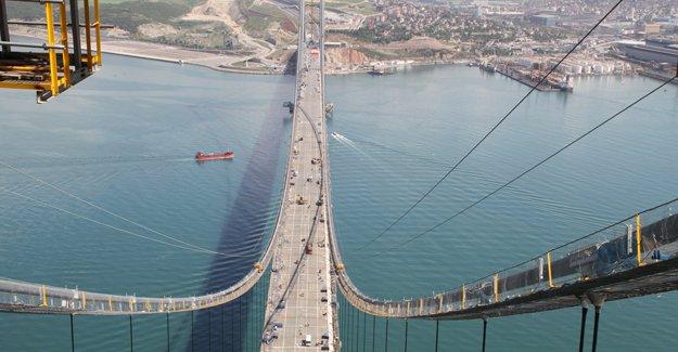 Osman Gazi Köprüsü'nü Siemens sensörler izleyecek!