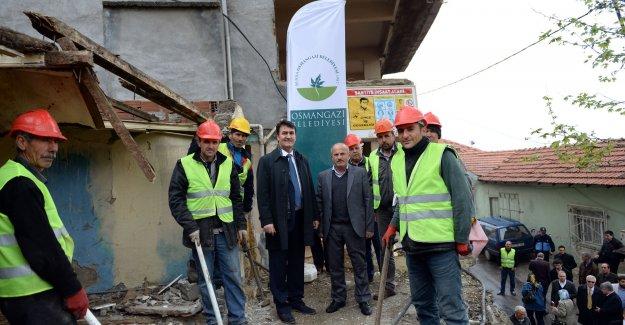 Osmangazi'de kentsel dönüşüm seferberliği