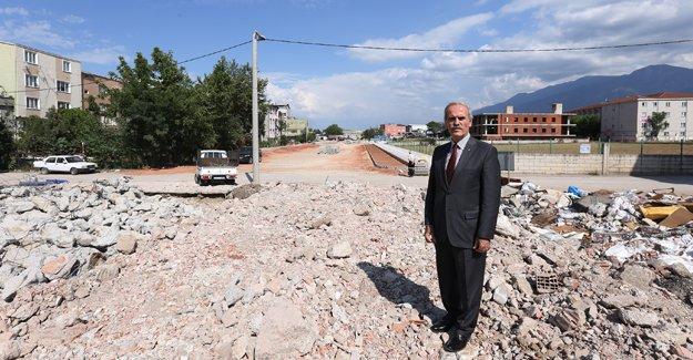Osmangazi'de Murat Hüdavendigar Bulvarı ile ulaşım rahatlayacak!