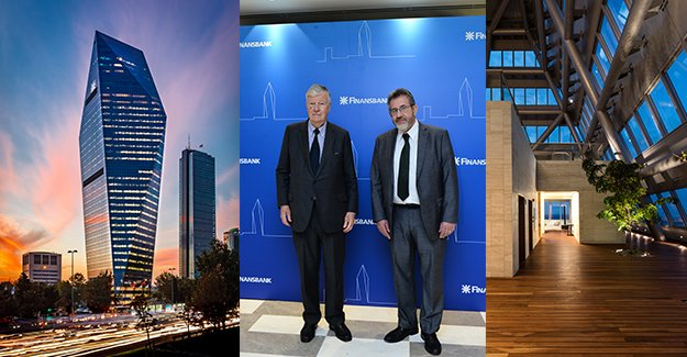 Sembol yapıların mimarı Henry N. Cobb ve José Bruguera İstanbul'daydı!