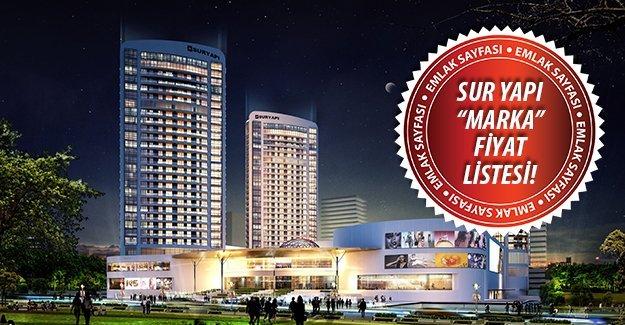 Sur Yapı Bursa fiyat listesi!