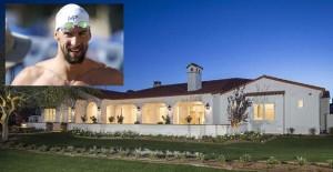 ABD'li yüzücü Michael Phelps'in evi görenleri büyülüyor!
