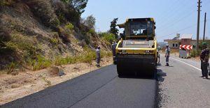 Antalya Alanya yolları yenileniyor!