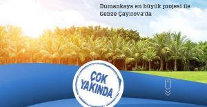 Dumankaya Gebze Çayırova projesi Gebze'de yükselecek!