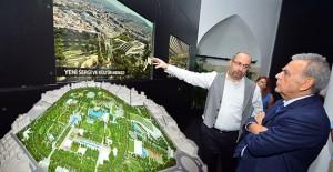 Kültürpark İzmir projesi 85. İzmir Enternasyonal Fuarı'nda sergileniyor!